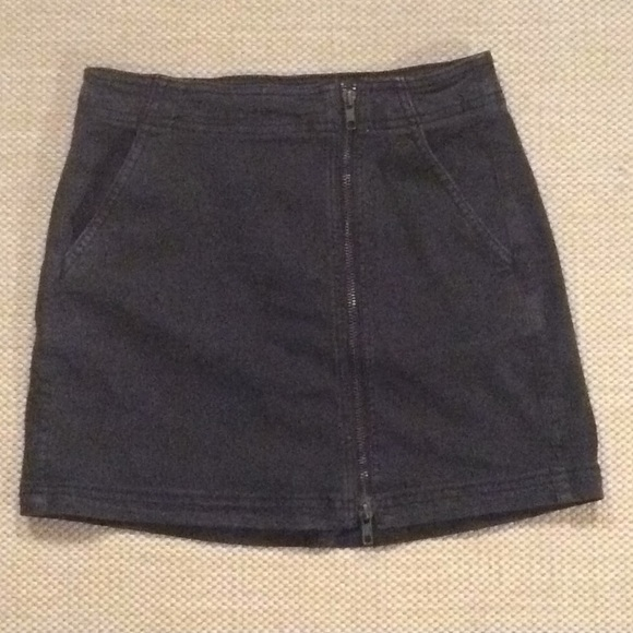 c9e6779586 American Eagle Outfitters Skirts | Aeo Super Stretch X Zipper Mini ...